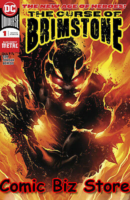 Curse Of Brimstone #1 (2018) 1St Printing Dark Nights Metal Tie-In Dc Universe