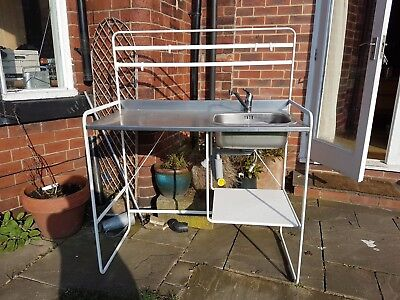 IKEA SUNNERSTA MINI kitchen frame, sink and tap. Hardly used ...