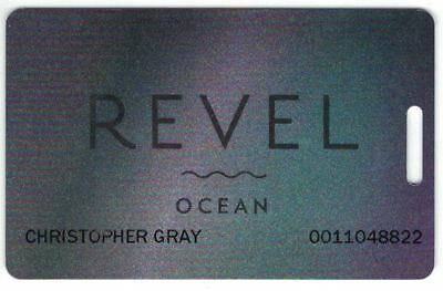 Revel Casino Hotel Ocean Slot Card Atlantic City NJ 2012 to 2014 Now Closed