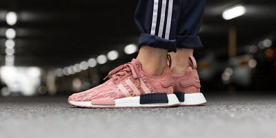 f3034e2b5 WOMEN S ADIDAS NMD R1 Raw Pink Trace Pink-Legend Ink BY9648 -  95.00 ...