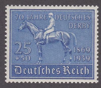 "Germany 1939  #B144 Racehorse ""Investment"" and Jockey - MNH"