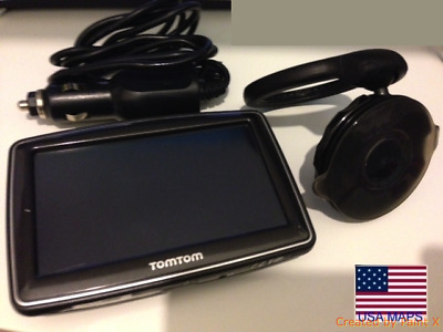 TOMTOM GO 910 Western and Central Europe North America GPS Working