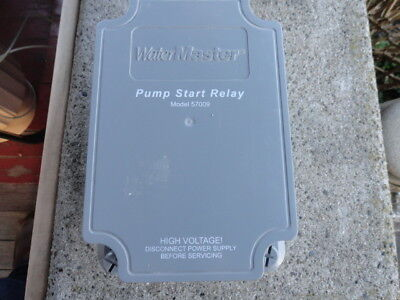 Water Master pump start relay model 57009