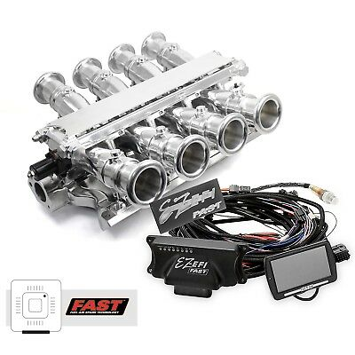 Sbc Polished Aluminum Efi Fuel Injection Hilborn Style