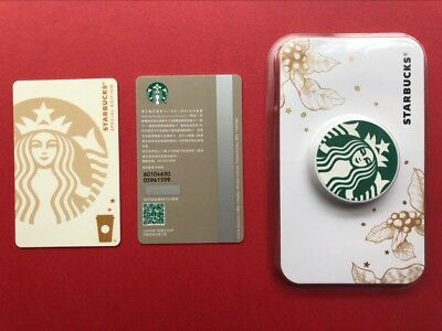 CS1823 China Starbucks coffee White Siren MSR card mint 1pc with Green stent