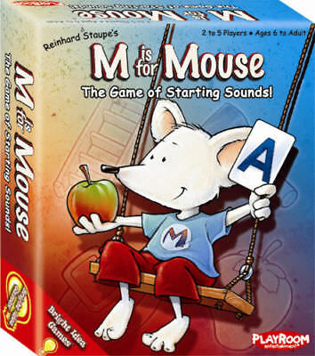 M is For Mouse Sounds Card Game Literacy & Language Teacher Resource Early Sound