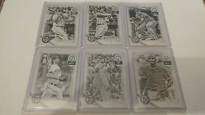 2018 Topps Gypsy Queen Black & White #/50 Parallel You Pick UPick From List Lot