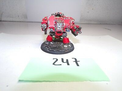 warhammer 40k Blood angels Cybot top bemalt
