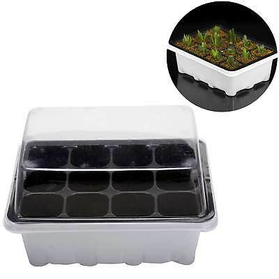 Nursery Pot 12 Cells Hole Plant Seeds Garden Tools Outdoor Grow Box 3 pieces Set