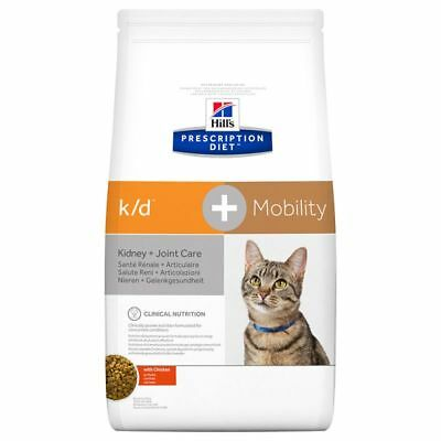 Hill's Prescription Diet Feline k/d+Mobility Kidney+Joint Care Chicken Dry Food