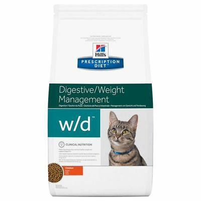 Hill's Prescription Diet Feline w/d Digestive/Weight Management Chicken 5kg 10kg