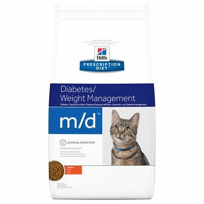 Hill's Prescription Diet Feline m/d Diabetes/Weight Management Chicken Dry Food