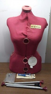 srars dial your twin manequinn dress maker bust made in england