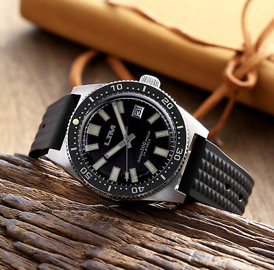 6217/SLA017 mechanical automatic stainless steel diver 200M 62MAS men's watch