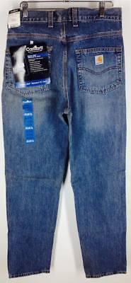 06b5548b874 NOS NWT Carhartt Series 1889 Jeans Men's Relaxed Fit Straight Leg Denim Jean  (Q)