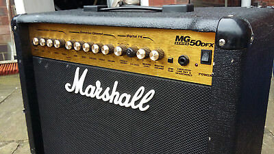 Wonderbaar MARSHALL MG50 DFX Guitar Amplifier with Foot Switch - £37.00 YT-76