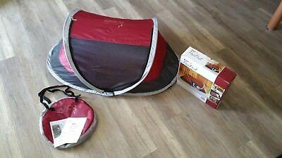 Kidco Peapod Cranberry Bed P3010 Travel Toddler Portable Brand New Tent Red