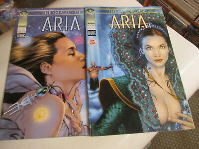 The Magic Of Aria .. 1/2. Comics Semic..2000.tbe