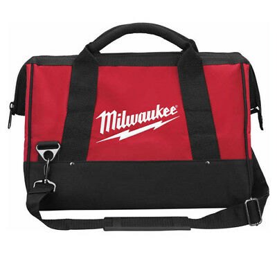 Milwaukee Heavy-Duty 34x 20x16cm  Tool Bag Contractor Zip Holdall M12