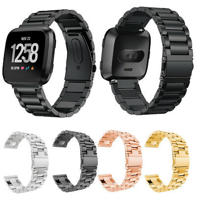 Stainless Steel Link Wristband Fitbit Versa/Lite/Special Edition Bracelet Strap