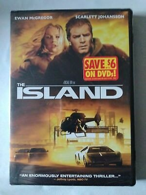 The Island (DVD, 2005, Widescreen)  NEW!!   FAST SHIPPING!!