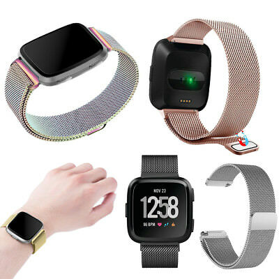 For Fitbit Versa/Lite Edition/Special Edition Milanese Loop Stainless Steel Band