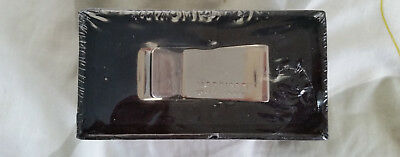 Morrissey Silver Base Metal Money Clip - New and Sealed