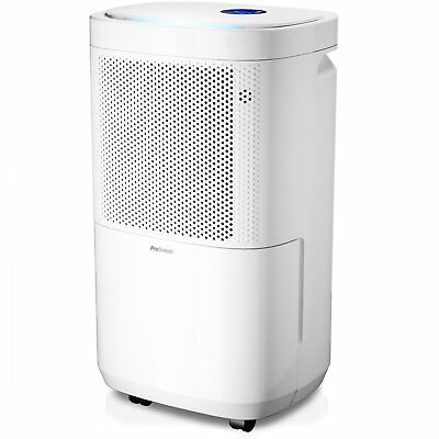 Pro Breeze® 12L Portable Dehumidifier with 4 Modes, Digital Display, Continuous