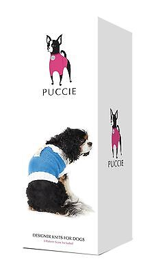 Designer Knits for Dogs - Preppy Jumper Knit Kit for Small Dogs from Puccie new