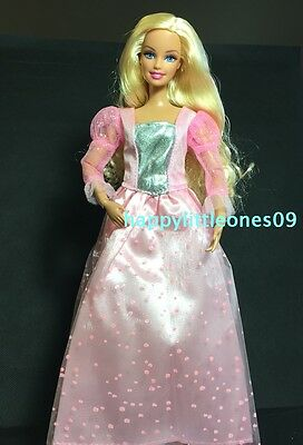 Brand New Barbie Doll Outfit/Clothes/Wedding Party Evening Dress Long Sleeve