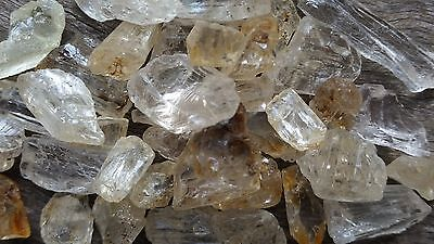 X3 Scapolite Yellow (Wenerite) weighing 2-3 grams each