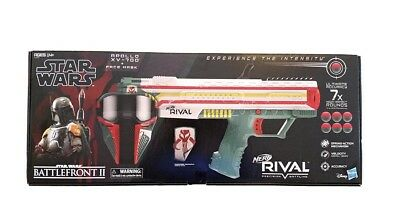Boba Fett NERF Rival Apollo XV-700 Blaster Star Wars Gamestop Excl. w/ Mask NEW!