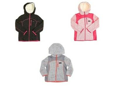 Girls Weatherproof Fleece Jacket with Sherpa Lined Hood (4-6x)  by WEATHERPROOF