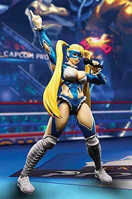 *NEW* Street Fighter: Rainbow Mika S.H.Figuarts Action Figure by Bandai