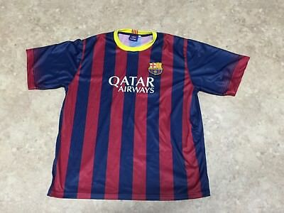 the best attitude c251b a9446 FCB OFFICIAL LIONEL MESSI Jersey Mens Size XL Barcelona Soccer UNICEF