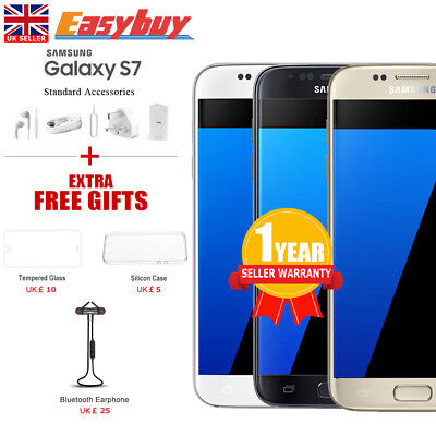 New  Factory Unlocked Samsung Galaxy S7 G930F LTE 4G 32GB Android Phone