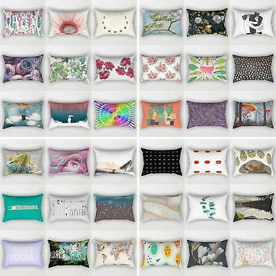 Rectangle Geometric Pillows Case Throw Pillow Cushions Cover Home Decor  Showy