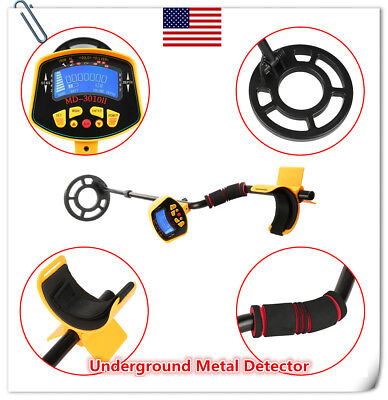 High Sensitivity MD3010II Underground Metal Detector Treasure Hunter Digger N1R