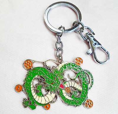Cosplay Anime Dragon ball Dragonball Z  Green Dragon keychain keyring Pendant