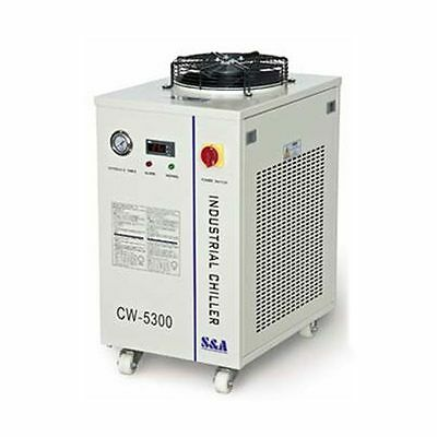CW-5300DH Industrial Water Chiller 110V for One 150W CO2 Laser Tube Cooling 60Hz