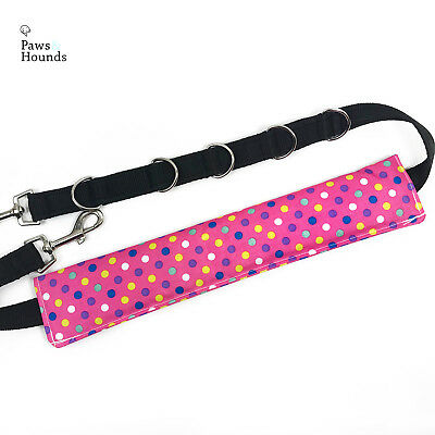 Dog Grooming Belly Strap/Band Pink Dots
