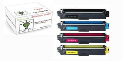 Genuine Brother TN-221 TN-225 5PACK  (2XB,Y,M,C)  Color Toner Set
