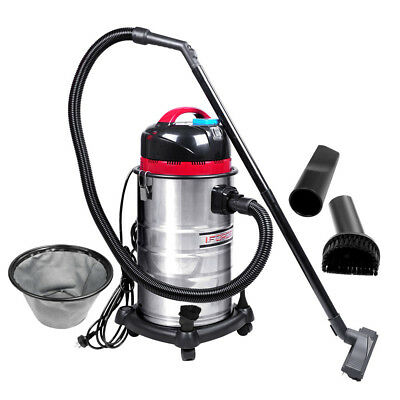 30L Industrial Commercial Wet & Dry Bagless Vacuum Cleaner Blower 1400W Vac