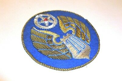 Bullion German Theater Made 10th Air Force Hand Embroidered Patch