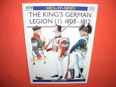 Osprey Men at Arms 338, The King`s GERMAN LEGION (I) 1803-1812