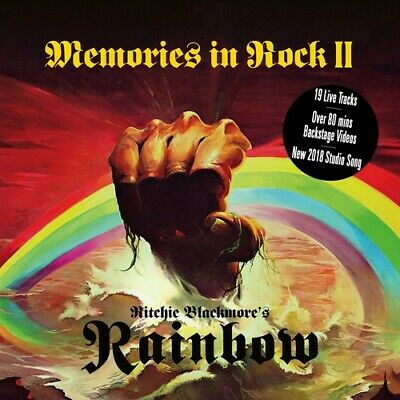 Memories In Rock Ii - Ritchie's Rainbow Blackmore (2018, CD NEU)3 DISC SET
