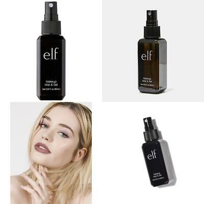 E.L.F Makeup Mist Set Setting Spray Clear Alcohol Free Elf Cosmetic Care 2.02 oz