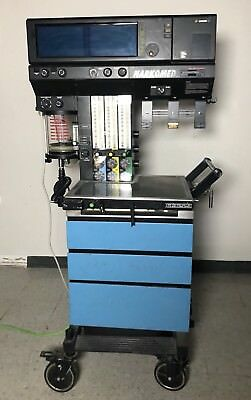 north american drager narkomed 4 anesthesia unit w extra display rh picclick com Drager Narkomed M Drager Vent Portable