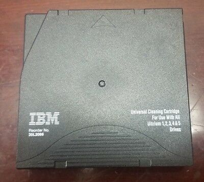IBM 35L2086 Ultrium LTO Universal Cleaning Cartridge for 1-5 Tape