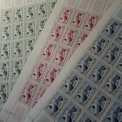MOROCCO N°386/388 SHEET SHEET 25 NEUF LUXE VALUE 10 purchased 3